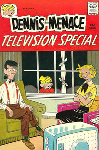 Cover Thumbnail for Dennis the Menace Giant (Hallden; Fawcett, 1958 series) #37 - Dennis the Menace Television Special
