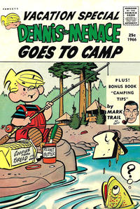 Cover Thumbnail for Dennis the Menace Giant (Hallden; Fawcett, 1958 series) #39 - Dennis the Menace Goes to Camp