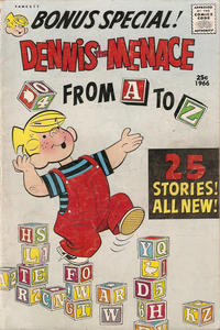 Cover Thumbnail for Dennis the Menace Giant (Hallden; Fawcett, 1958 series) #41 - Dennis the Menace from A to Z