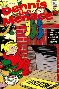 Cover Thumbnail for Dennis the Menace Giant (Hallden; Fawcett, 1958 series) #43 - Dennis the Menace [Christmas Special]