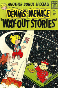 Cover Thumbnail for Dennis the Menace Giant (Hallden; Fawcett, 1958 series) #48 - Dennis the Menace 'Way Out Stories'