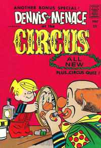 Cover Thumbnail for Dennis the Menace Giant (Hallden; Fawcett, 1958 series) #50 - Dennis the Menace at the Circus