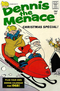 Cover Thumbnail for Dennis the Menace Giant (Hallden; Fawcett, 1958 series) #51 - Dennis the Menace Christmas Special