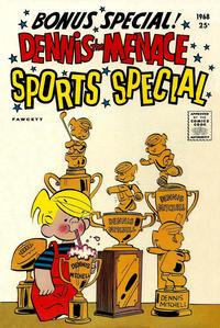 Cover Thumbnail for Dennis the Menace Giant (Hallden; Fawcett, 1958 series) #52