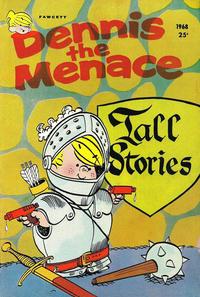 Cover Thumbnail for Dennis the Menace Giant (Hallden; Fawcett, 1958 series) #55 - Dennis the Menace Tall Stories