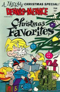 Cover Thumbnail for Dennis the Menace Giant (Hallden; Fawcett, 1958 series) #61 - Dennis the Menace Christmas Favorites