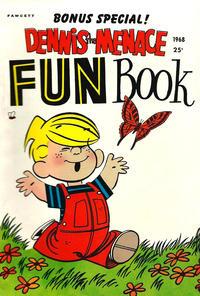 Cover Thumbnail for Dennis the Menace Giant (Hallden; Fawcett, 1958 series) #62 - Dennis the Menace Fun Book