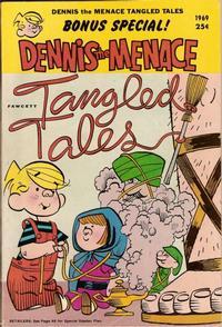 Cover Thumbnail for Dennis the Menace Giant (Hallden; Fawcett, 1958 series) #70 - Dennis the Menace Tangled Tales