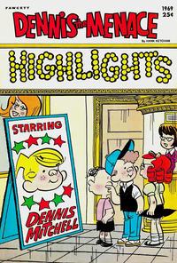 Cover Thumbnail for Dennis the Menace Giant (Hallden; Fawcett, 1958 series) #71 - Dennis the Menace Highlights