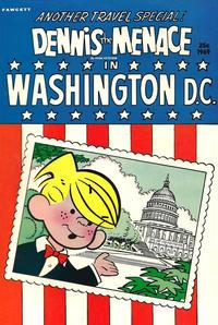 Cover Thumbnail for Dennis the Menace Giant (Hallden; Fawcett, 1958 series) #72 - Dennis the Menace in Washington D.C.