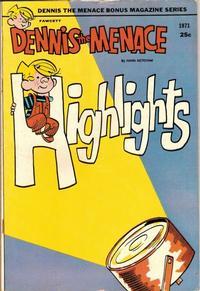 Cover Thumbnail for Dennis the Menace Bonus Magazine Series (Hallden; Fawcett, 1970 series) #90