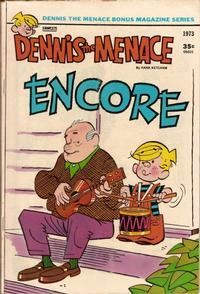 Cover Thumbnail for Dennis the Menace Bonus Magazine Series (Hallden; Fawcett, 1970 series) #117