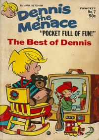 Cover Thumbnail for Dennis the Menace Pocket Full of Fun (Hallden; Fawcett, 1969 series) #7
