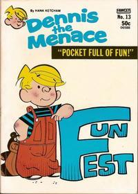 Cover Thumbnail for Dennis the Menace Pocket Full of Fun (Hallden; Fawcett, 1969 series) #13