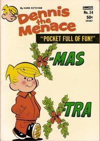 Cover Thumbnail for Dennis the Menace Pocket Full of Fun (Hallden; Fawcett, 1969 series) #14