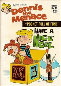 Cover Thumbnail for Dennis the Menace Pocket Full of Fun (Hallden; Fawcett, 1969 series) #18