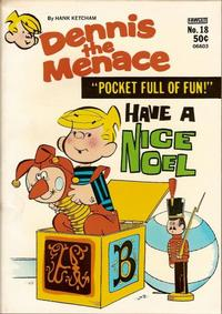 Cover Thumbnail for Dennis the Menace Pocket Full of Fun (Hallden; Fawcett, 1969 series) #18