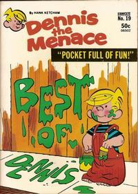 Cover Thumbnail for Dennis the Menace Pocket Full of Fun (Hallden; Fawcett, 1969 series) #19