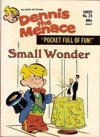 Cover Thumbnail for Dennis the Menace Pocket Full of Fun (Hallden; Fawcett, 1969 series) #23