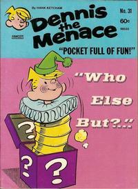 Cover Thumbnail for Dennis the Menace Pocket Full of Fun (Hallden; Fawcett, 1969 series) #31