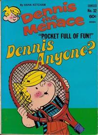 Cover Thumbnail for Dennis the Menace Pocket Full of Fun (Hallden; Fawcett, 1969 series) #32