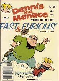 Cover Thumbnail for Dennis the Menace Pocket Full of Fun (Hallden; Fawcett, 1969 series) #37