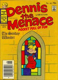 Cover Thumbnail for Dennis the Menace Pocket Full of Fun (Hallden; Fawcett, 1969 series) #46