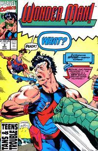 Cover Thumbnail for Wonder Man (Marvel, 1991 series) #3 [Direct]