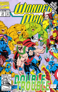 Cover Thumbnail for Wonder Man (Marvel, 1991 series) #13 [Direct]