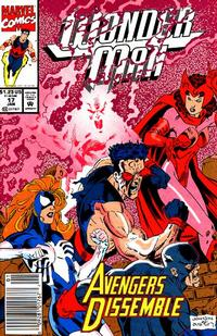 Cover Thumbnail for Wonder Man (Marvel, 1991 series) #17 [Newsstand Edition]