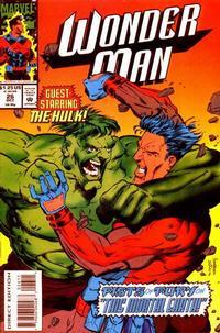 Cover Thumbnail for Wonder Man (Marvel, 1991 series) #26