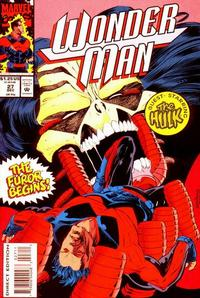 Cover for Wonder Man (Marvel, 1991 series) #27