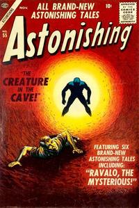 Cover Thumbnail for Astonishing (Marvel, 1951 series) #55