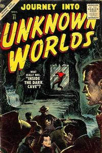 Cover Thumbnail for Journey into Unknown Worlds (Marvel, 1950 series) #51