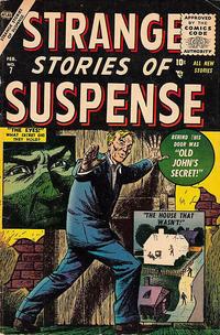 Cover Thumbnail for Strange Stories of Suspense (Marvel, 1955 series) #7