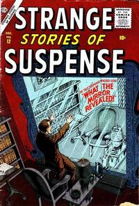 Cover Thumbnail for Strange Stories of Suspense (Marvel, 1955 series) #12