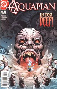 Cover Thumbnail for Aquaman (DC, 2003 series) #5