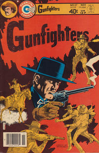 Cover Thumbnail for Gunfighters (Charlton, 1966 series) #57