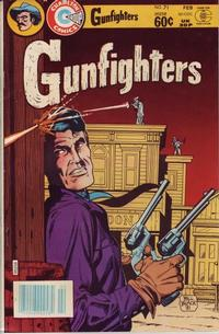 Cover Thumbnail for Gunfighters (Charlton, 1979 series) #71