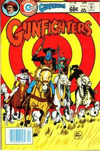 Cover Thumbnail for Gunfighters (Charlton, 1979 series) #78
