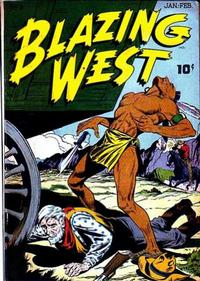 Cover Thumbnail for Blazing West (American Comics Group, 1948 series) #3