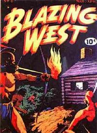 Cover Thumbnail for Blazing West (American Comics Group, 1948 series) #4