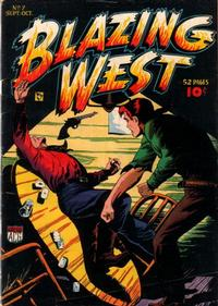 Cover Thumbnail for Blazing West (American Comics Group, 1948 series) #7