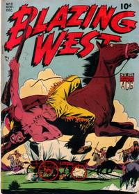 Cover Thumbnail for Blazing West (American Comics Group, 1948 series) #8