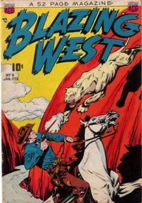 Cover Thumbnail for Blazing West (American Comics Group, 1948 series) #9