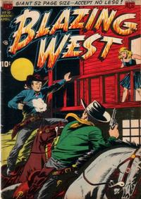 Cover Thumbnail for Blazing West (American Comics Group, 1948 series) #10