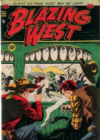 Cover Thumbnail for Blazing West (American Comics Group, 1948 series) #11