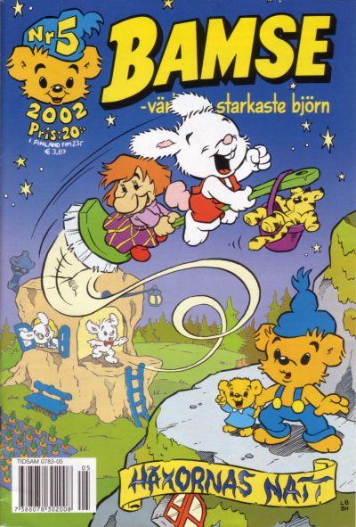 Cover for Bamse (Egmont, 1997 series) #5/2002