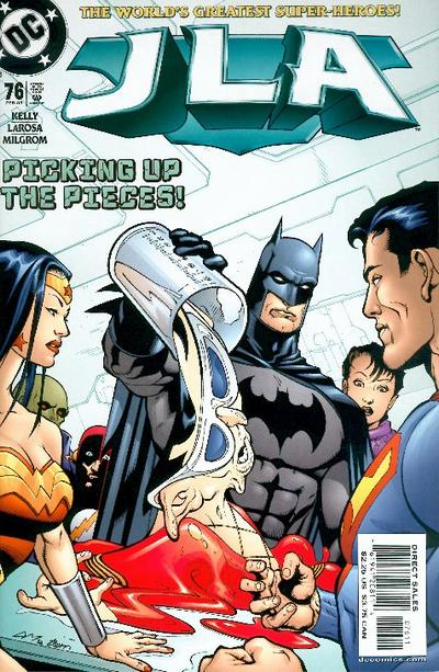 Cover for JLA (DC, 1997 series) #76