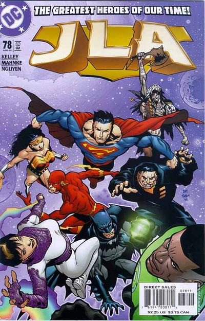 Cover for JLA (DC, 1997 series) #78